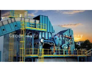 PSX-1500 Scrap Steel Recycling Line